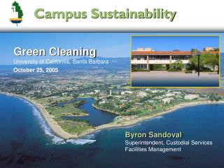 Green Cleaning University of California, Santa Barbara