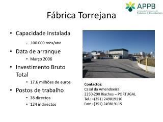 Fábrica Torrejana