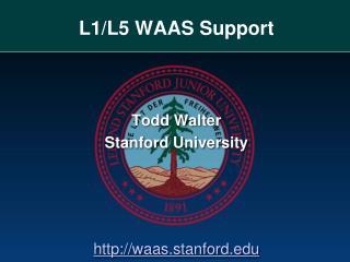 L1/L5 WAAS Support