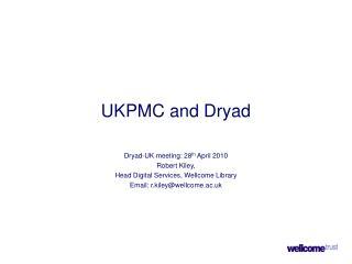 UKPMC and Dryad