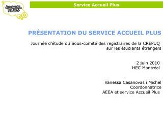 Service Accueil Plus