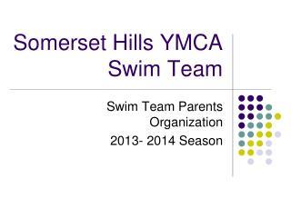 Somerset Hills YMCA Swim Team