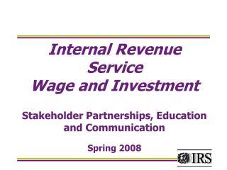 International Students Income Tax Seminar