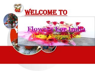 Online Gift Shop India Offers Flower for All Occasions