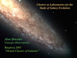 Clusters as Laboratories for the Study of Galaxy Evolution