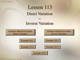 Lesson 113