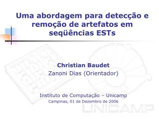 Uma abordagem para detecção e remoção de artefatos em seqüências ESTs