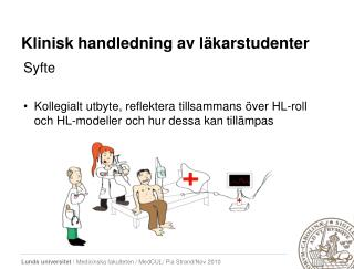 Klinisk handledning av läkarstudenter
