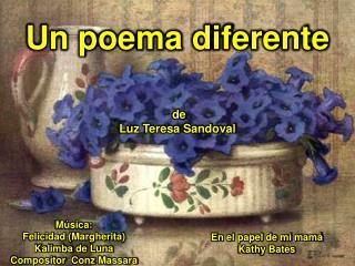 Un poema  diferente