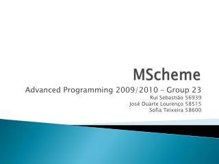 MScheme
