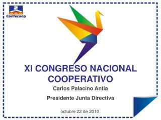 XI CONGRESO NACIONAL COOPERATIVO