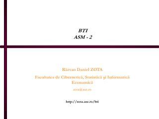 BTI ASM - 2