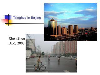Tsinghua in Beijing