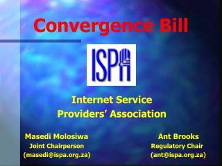 Convergence Bill