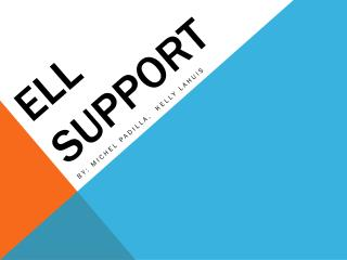ELL Support
