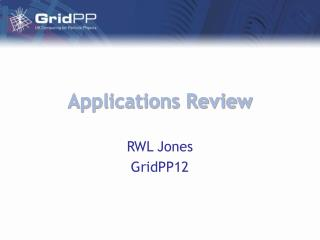 Applications Review