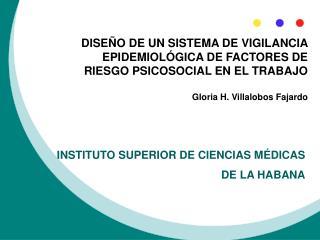 INSTITUTO SUPERIOR DE CIENCIAS M DICAS DE LA HABANA