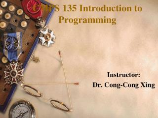 CMPS  135  Introduction to Programming