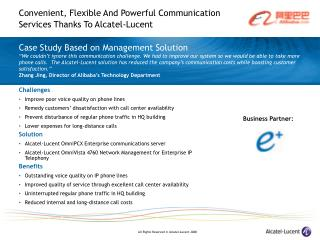 Case Study Based on Management Solution