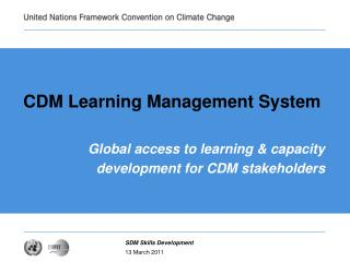 CDM Learning Management System