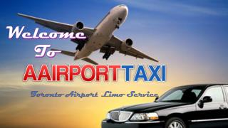Toronto Airport Limo Service by A Airport Taxi