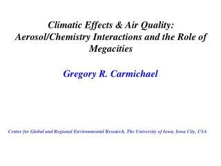 Gregory R. Carmichael
