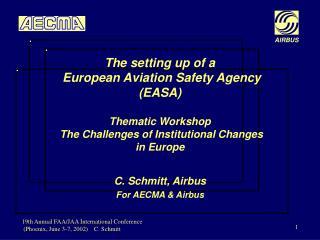 C. Schmitt,  Airbus For AECMA  &  Airbus