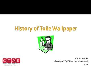 History of Toile Wallpaper