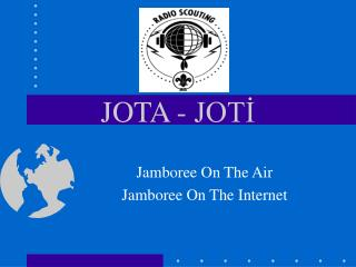 JOTA - JOTİ