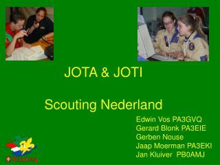 JOTA & JOTI  Scouting Nederland