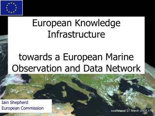 European Knowledge Infrastructure towards a European Marine Observation and Data Network