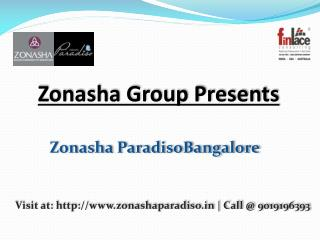 Zonasha Paradiso - Luxury Villas Marathahalli Bangalore