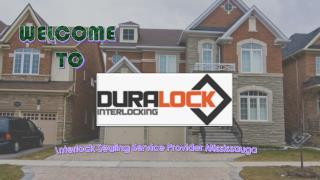 Dura Lock an Interlock Sealing Service Provider Mississauga