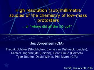 High resolution (sub)millimetre studies of the chemistry of low-mass protostars
