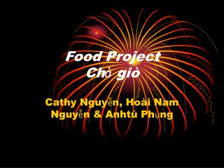 Food Project  Chả giò