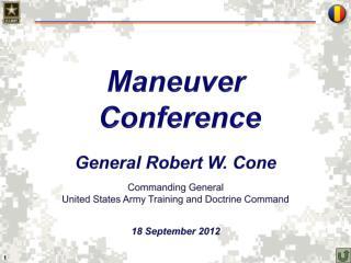Maneuver  Conference