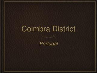 Coimbra District
