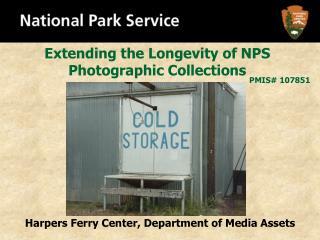 Cold Storage Project Presentation