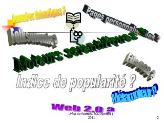 Ma trise de l information scientifique en Doctorat  2010-2011  URFIST de Rennes, SCD Rennes 1