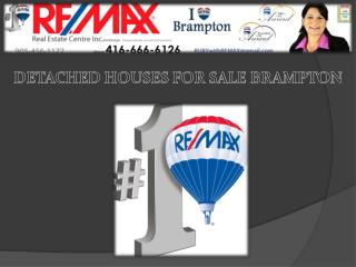 Detached Houses for sale Brampton