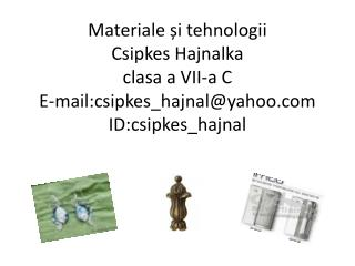 Clasificarea materialelor metalice
