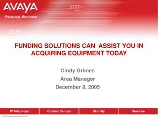 FUNDING SOLUTIONS CAN  ASSIST YOU IN ACQUIRING EQUIPMENT TODAY