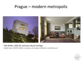 Prague  – modern metropolis