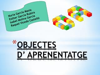 OBJECTES  D' APRENENTATGE