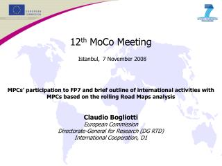 Participation in FP7