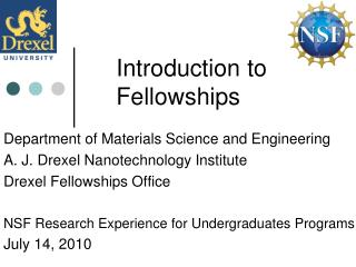 Introduction to Fellowships