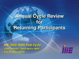 Annual Cycle Review for Returning Participants