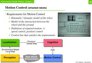Motion Control  (wheeled robots)