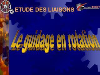 ETUDE DES LIAISONS