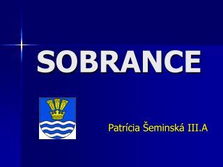 SOBRANCE